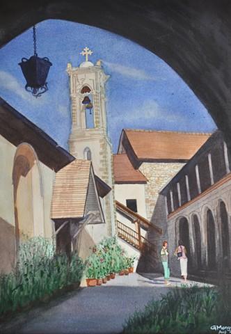 Cyprus Monastery