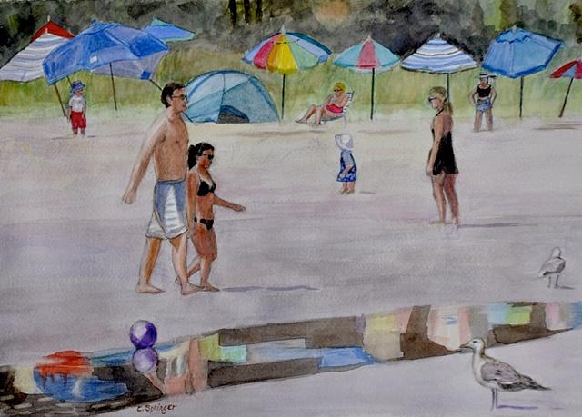 Beach in Gloucester