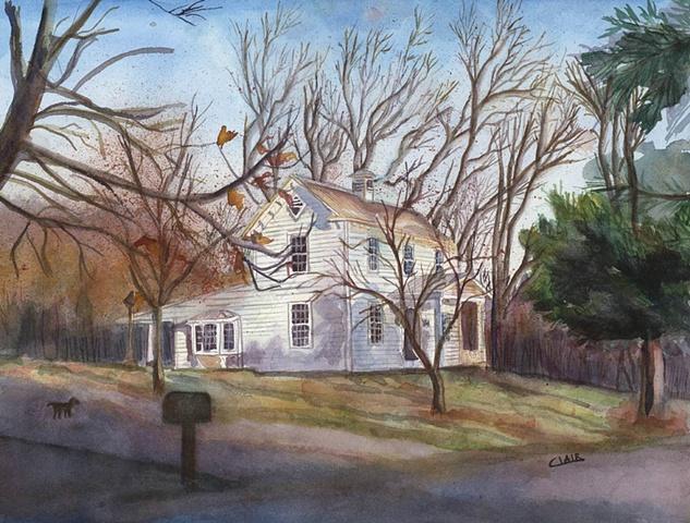 House on Pond Creek Road