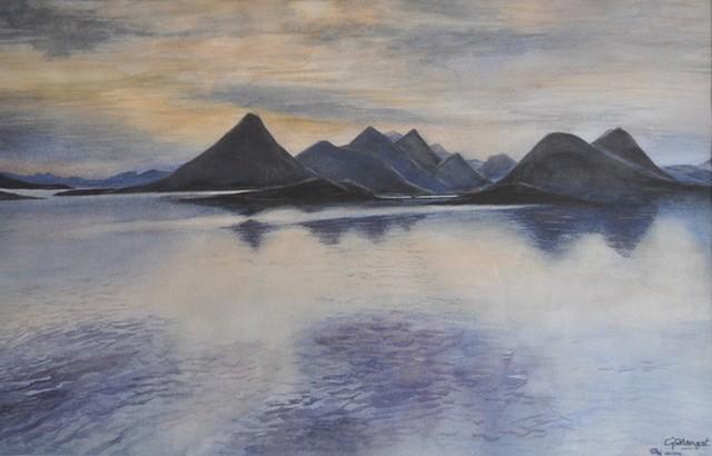 Along a Norwegian Fjord