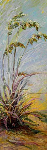 #lauragammonsstudios laura gammons @lauragammons #camplaura #lauragammons laura gammons lauragammons.com #lauragammonsstudios, dune, sea oat, grass, coast, protection, wind, purple, blue, sea grass, species, environmental protection, nourishment