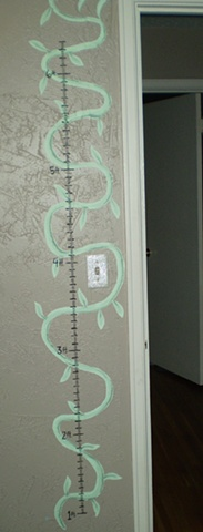 hand painted nursery mural by ashley seaman