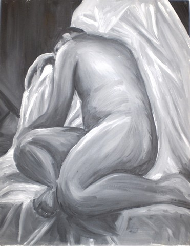figure oil painting by ashley seaman