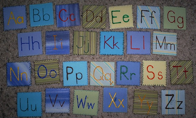 how to make alphabet magnets