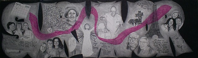 breast cancer survivor story drawing by ashley seaman