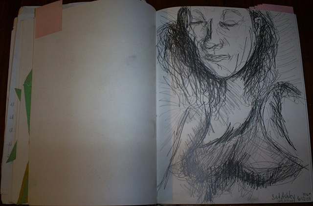 sketchbook by ashley seaman