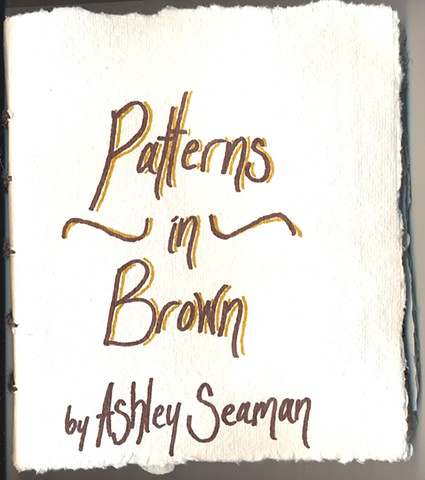 artist book by ashley seaman