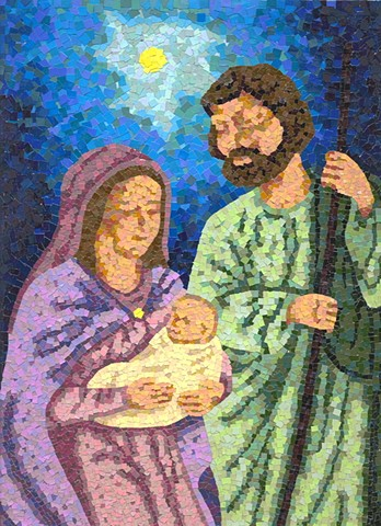 Holy Family Mosaic