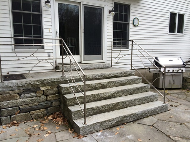custom stainless steel railings