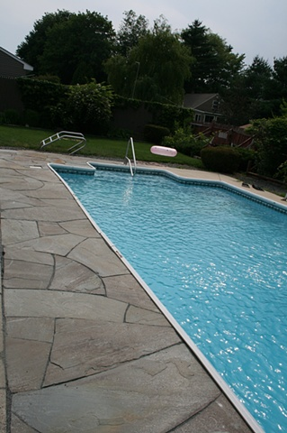 bluestone pool surround