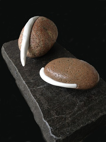 A new series of stone sculptures from maine sculptor Jordan Smith
