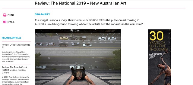 Artshub - Review: The National 2019 New Australian Art