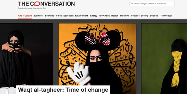 The conversation -  Waqt al-tagheer: Time of change explores the diversity of Muslim Australian identitie