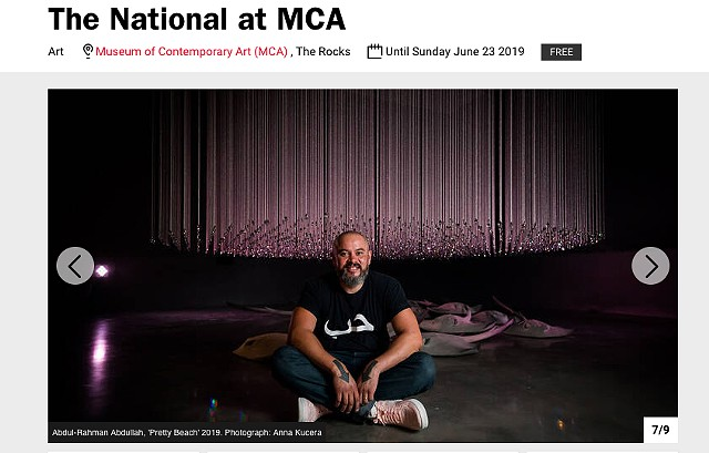 Time Out - The National at MCA