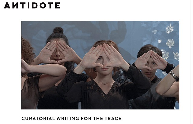 Antidote - Curatorial writing for The Trace