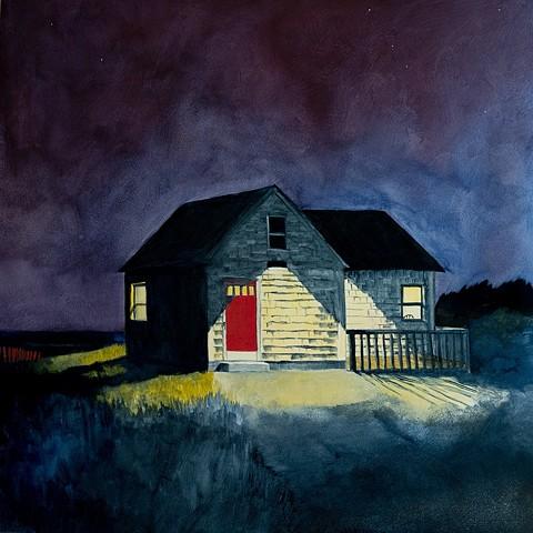 Plum Island, Massachusetts Townie House by Dan Fionte
