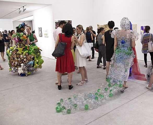 The Increasing Revenue Gap Dress @ Richard Taittinger Gallery, RU Benefit Event, NY, 2015