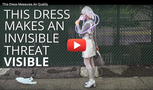 Air Pollution Dress Video by Nexus Media News