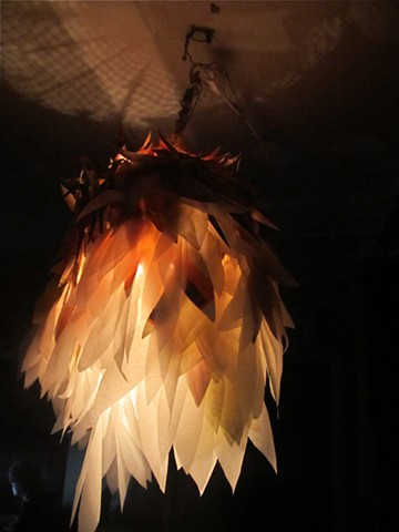 paper chicken light