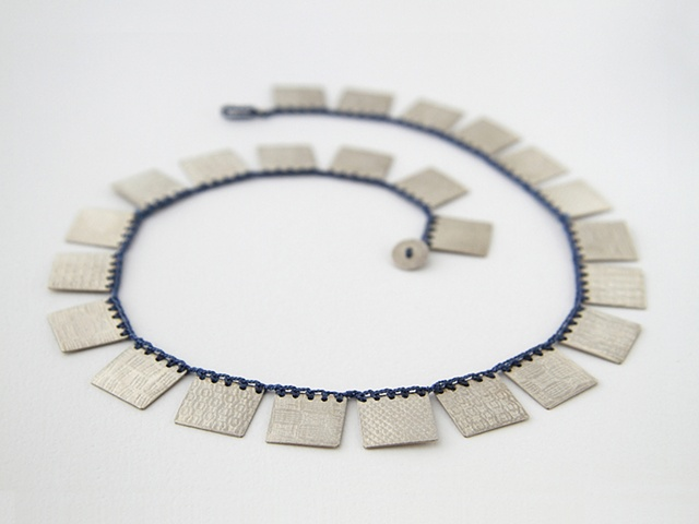 Cleopatra Square Necklace #1