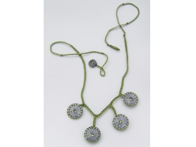 Amoeba Necklace #3