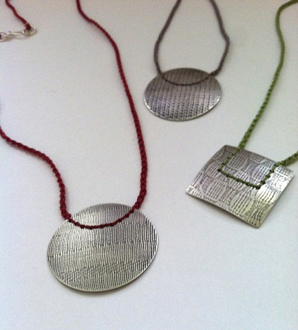 Stitched Necklaces