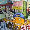Orange Skateboarder