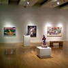 "Install shot at The Arizona State University Art Museum. ""Selections from the Mikki and Stanely Weithorn collection"""