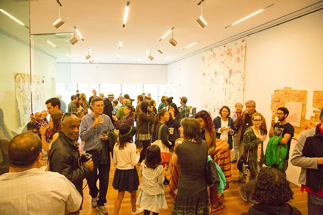 Image from closing reception. February 28th, 2015