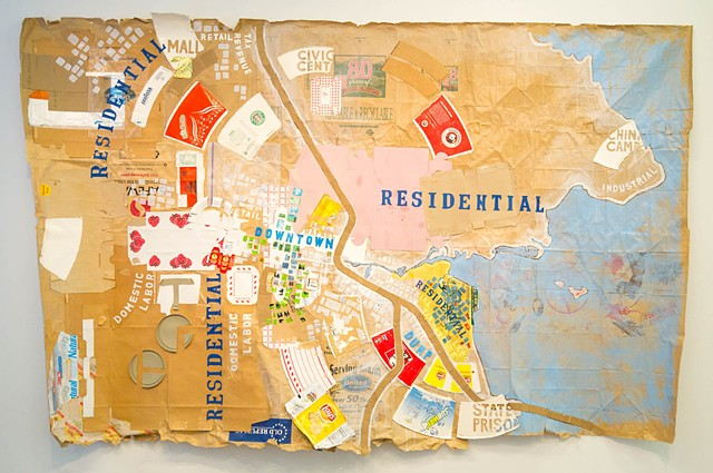 Map of San Rafael  *from the TakeOut Project