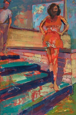 Figurative painting by Phyllis Gorsen