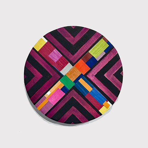 Lines,paper, collage black,color block painting,circle, geometric abstract, geometric, abstract painting, color, colorful, nature, art