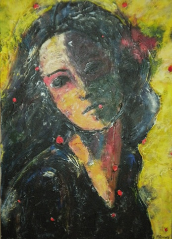 Visage in Yellow