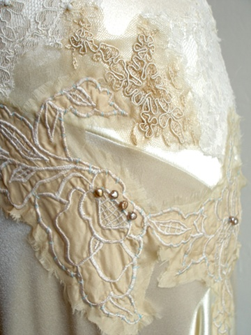 shannon's lace and stitching