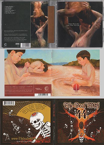 cd covers with my artwork