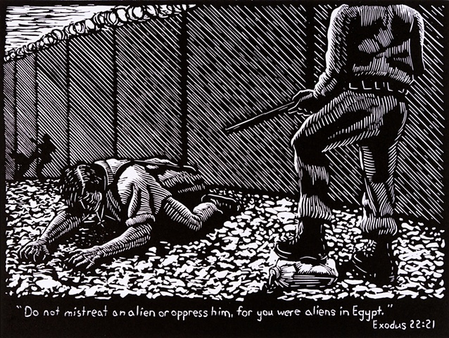 immigration, Minutemen, border, bible verse, Ramiro Rodriguez,
