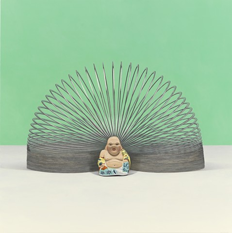 BUDDHA WITH SLINKY AURA