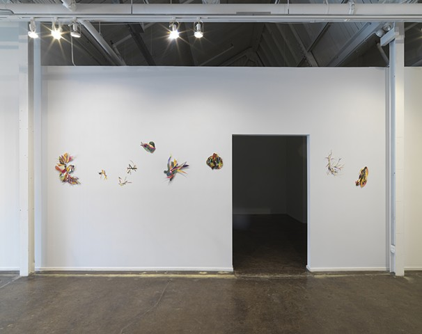 Installation view, Chicago Artists Coalition