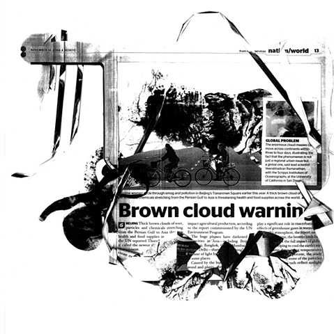 Brown cloud warning