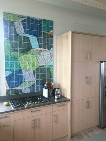 custom backsplash tile kitchen design handmade pattern edmund harriss
