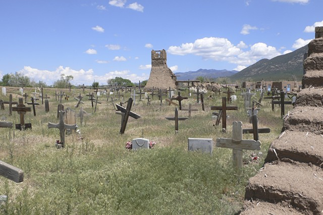 Christian Cemetery, Taos, New Mexico