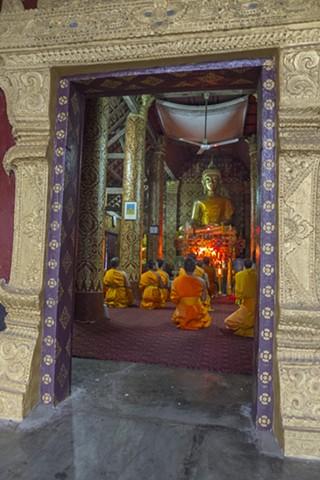 Buddhist Temple, Lauang Prabang, Laos