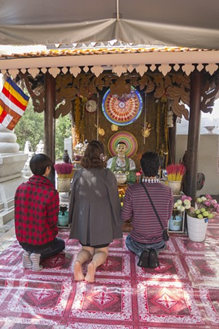 Lady Penh, Wat Phnom, Cambodia