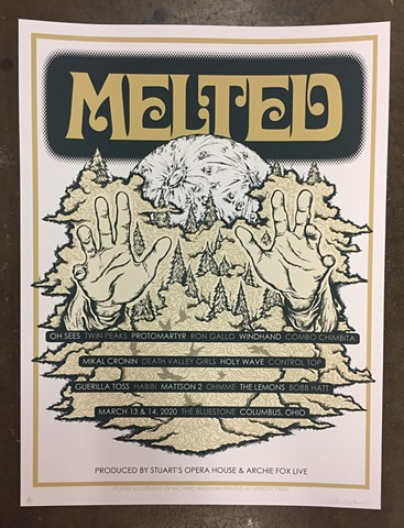 Melted Music Festival 2020 Poster