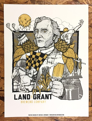 Land Grant Poster SOLD OUT