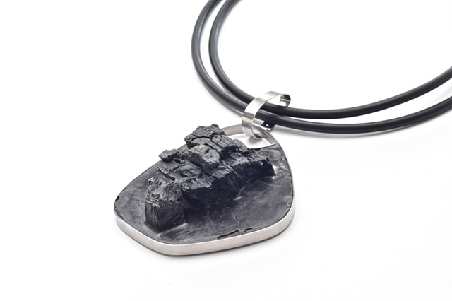 Meteorite Landing  necklace