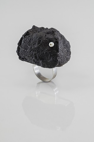 Lava Rock  ring