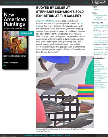 Review on New American Paintings Blog