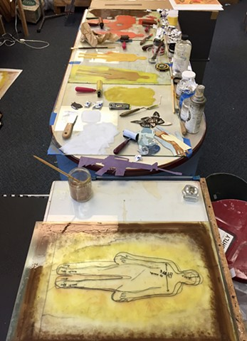 Printing Figurative Monotypes
