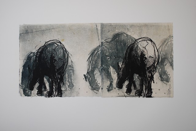 In the Field: Herd (litho. & intaglio)